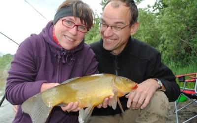 Angeln auf große Friedfische in Naturseen…